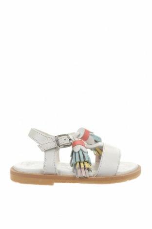 Детски сандали Oca-Loca, Размер 21, Цвят Бял, Естествена кожа, Цена 24,34лв.