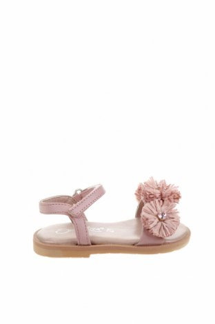 Sandale pentru copii Oca-Loca, Mărime 21, Culoare Roz, Piele naturală, textil, Preț 61,63 Lei