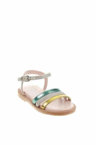 Детски сандали Oca-Loca, Размер 21, Цвят Многоцветен, Естествена кожа, текстил, Цена 17,32лв.