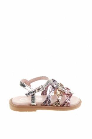 Детски сандали Oca-Loca, Размер 21, Цвят Многоцветен, Естествена кожа, Цена 24,64лв.