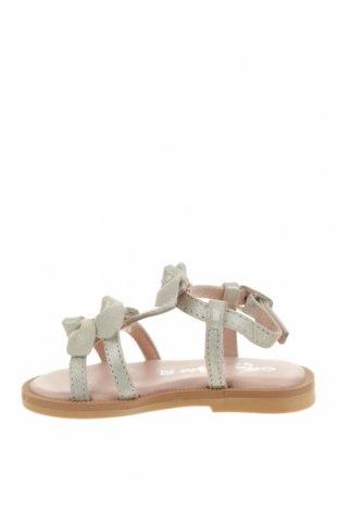Детски сандали Oca-Loca, Размер 20, Цвят Сив, Естествен велур, Цена 23,98лв.