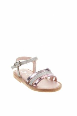 Детски сандали Oca-Loca, Размер 20, Цвят Многоцветен, Естествена кожа, текстил, Цена 17,32лв.