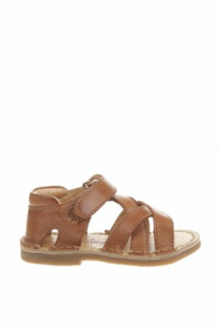 Детски сандали Oca-Loca, Размер 21, Цвят Кафяв, Естествена кожа, Цена 31,15лв.