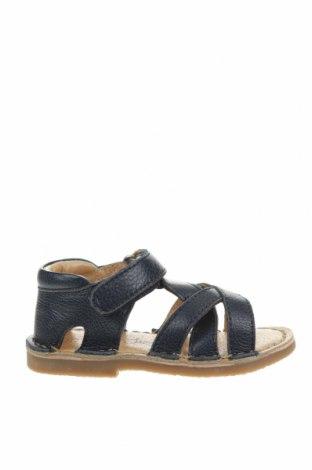 Детски сандали Oca-Loca, Размер 21, Цвят Син, Естествена кожа, Цена 31,15лв.