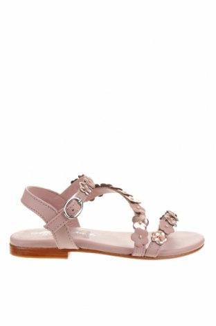 Детски сандали Oca-Loca, Размер 31, Цвят Розов, Естествена кожа, Цена 34,76лв.