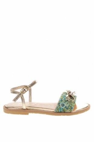 Детски сандали Oca-Loca, Размер 31, Цвят Многоцветен, Текстил, естествена кожа, Цена 35,88лв.