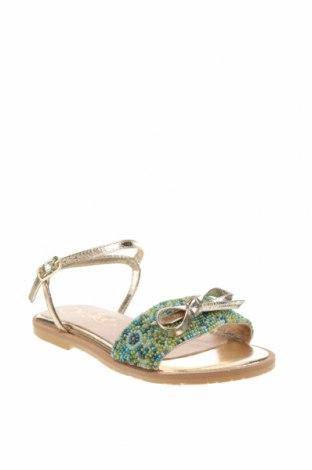 Детски сандали Oca-Loca, Размер 31, Цвят Многоцветен, Текстил, естествена кожа, Цена 40,71лв.