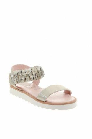 Детски сандали Oca-Loca, Размер 31, Цвят Бежов, Естествена кожа, Цена 35,28лв.