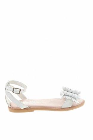 Детски сандали Oca-Loca, Размер 31, Цвят Бял, Естествена кожа, Цена 36,72лв.
