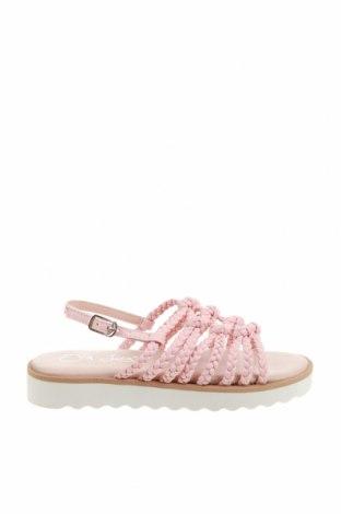 Детски сандали Oca-Loca, Размер 31, Цвят Розов, Естествена кожа, Цена 33,84лв.