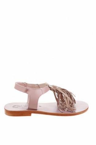 Детски сандали Oca-Loca, Размер 31, Цвят Розов, Естествена кожа, Цена 36,00лв.