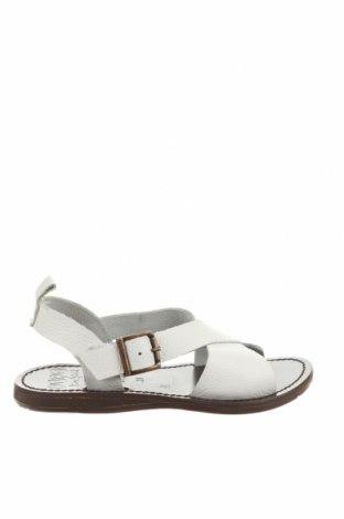 Детски сандали Oca-Loca, Размер 31, Цвят Бял, Естествена кожа, Цена 46,80лв.