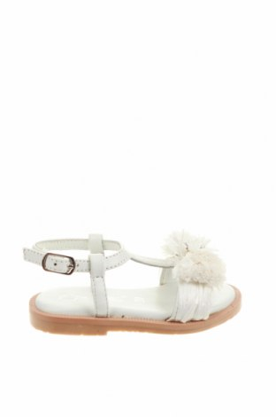 Детски сандали Oca-Loca, Размер 20, Цвят Бял, Естествена кожа, Цена 51,35лв.