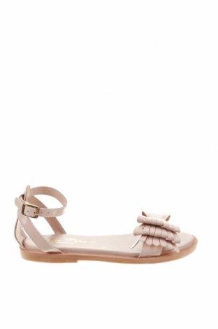 Детски сандали Oca-Loca, Размер 31, Цвят Розов, Естествена кожа, Цена 39,60лв.
