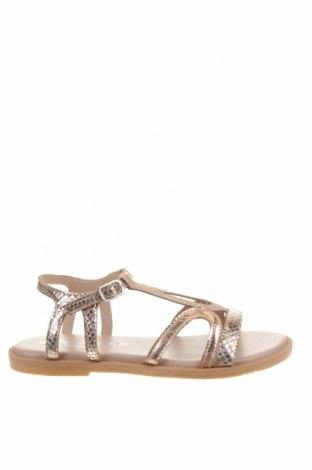 Детски сандали Oca-Loca, Размер 31, Цвят Розов, Естествена кожа, еко кожа, Цена 32,93лв.
