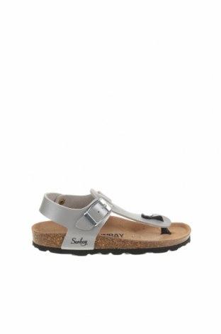 Детски сандали Sunbay, Размер 31, Цвят Сив, Еко кожа, Цена 35,64лв.