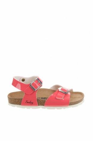 Детски сандали Sunbay, Размер 31, Цвят Розов, Еко кожа, Цена 46,53лв.