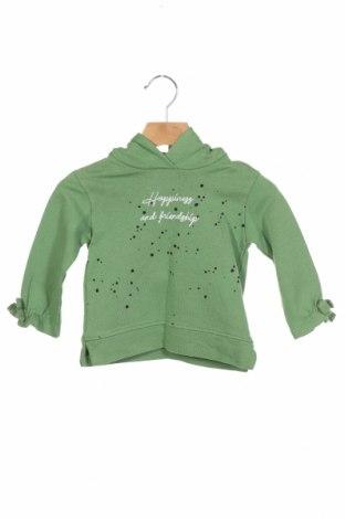 Детски суичър Lft, Размер 3-6m/ 62-68 см, Цвят Зелен, Памук, Цена 14,96лв.