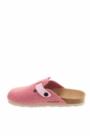 Домашни пантофи Sommers, Размер 37, Цвят Розов, Текстил, еко кожа, Цена 59,25лв.