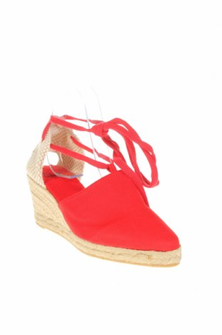 Espadrilky Castaner, Velikost 37, Barva Červená, Textile , Cena  864,00Kč