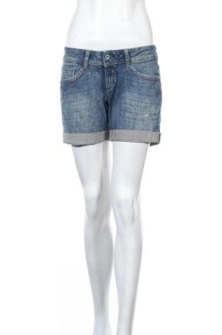 Дамски къс панталон Esprit, Размер M, Цвят Син, Памук, Цена 42,00лв.