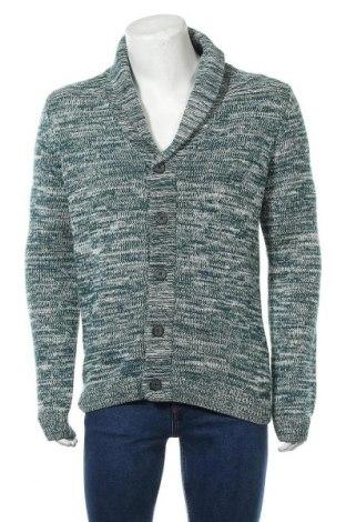 Мъжка жилетка Review, Размер L, Цвят Зелен, 60% памук, 40% полиакрил, Цена 41,80лв.