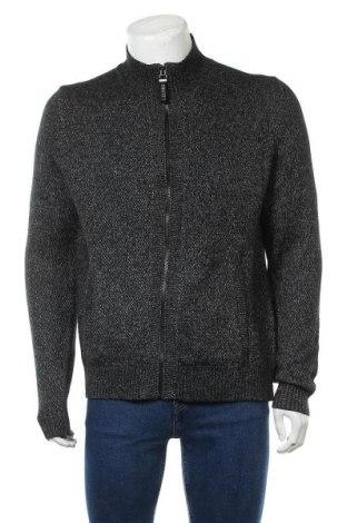 Мъжка жилетка S.Oliver, Размер L, Цвят Сив, 52% памук, 48% полиакрил, Цена 37,95лв.