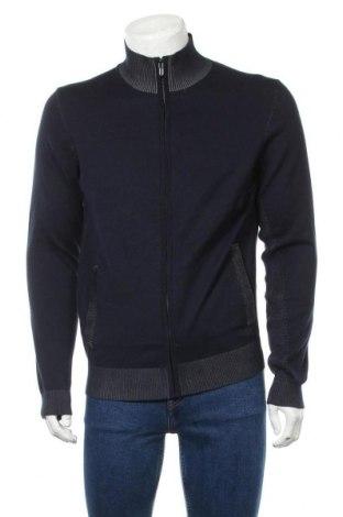 Мъжка жилетка S.Oliver, Размер M, Цвят Син, 80% памук, 20% полиестер, Цена 49,40лв.