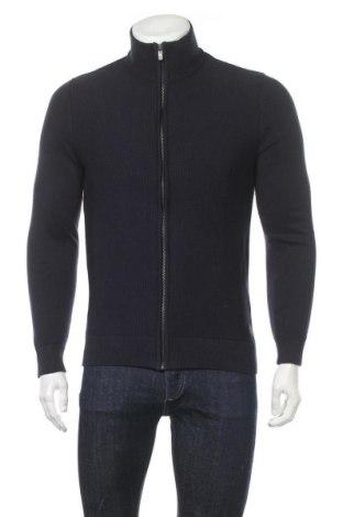 Мъжка жилетка Tom Tailor, Размер M, Цвят Син, 100% памук, Цена 37,95лв.
