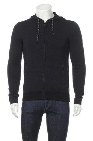 Мъжка жилетка Tom Tailor, Размер S, Цвят Син, 59% памук, 41% полиестер, Цена 37,95лв.