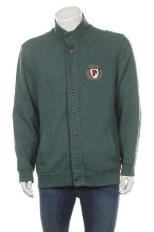 Мъжка жилетка U.S. Polo Assn., Размер XL, Цвят Зелен, 50% памук, 50% полиестер, Цена 49,50лв.
