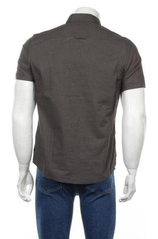 Мъжка риза Christian Berg, Размер S, Цвят Сив, Памук, Цена 39,00лв.