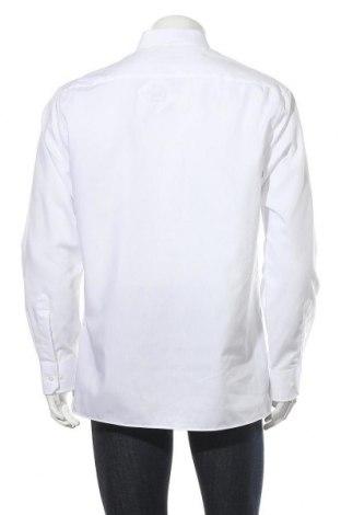 Мъжка риза Eterna, Размер L, Цвят Бял, Памук, Цена 49,50лв.