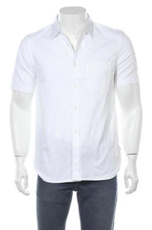 Мъжка риза French Connection, Размер S, Цвят Бял, Памук, Цена 64,97лв.