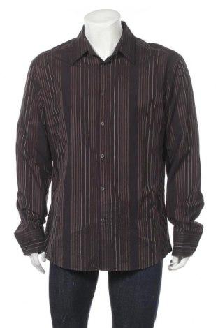 Мъжка риза H&M, Размер XL, Цвят Черен, Памук, Цена 4,46лв.