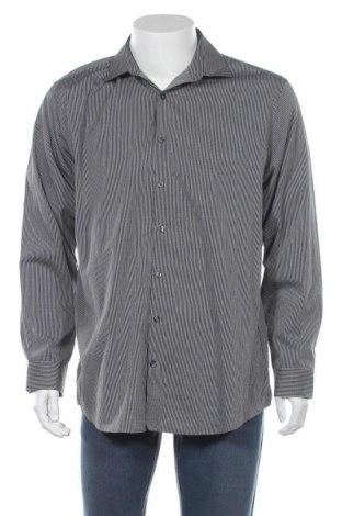 Мъжка риза Kenneth Cole, Размер XL, Цвят Черен, Цена 22,68лв.