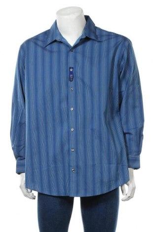 Мъжка риза Kenneth Cole, Размер XL, Цвят Син, Памук, Цена 17,96лв.