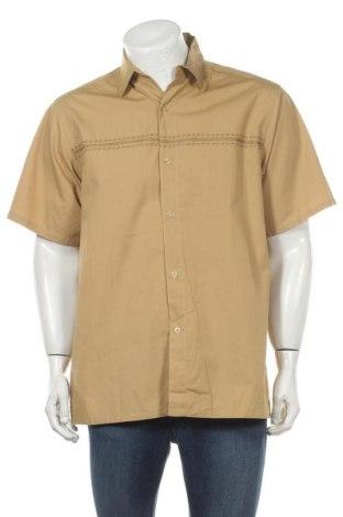 Мъжка риза Kenneth Cole, Размер XL, Цвят Жълт, Памук, Цена 9,45лв.