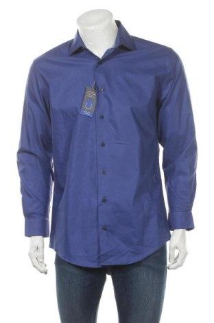 Мъжка риза Kenneth Cole, Размер M, Цвят Лилав, Памук, Цена 20,58лв.