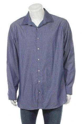 Мъжка риза Kenneth Cole, Размер XXL, Цвят Син, Памук, Цена 18,95лв.