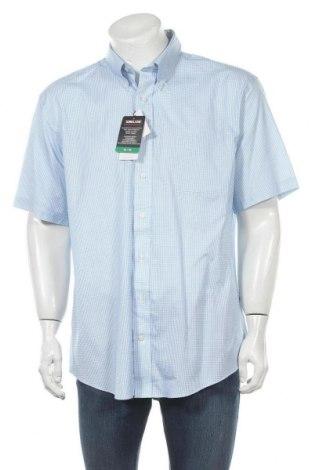 Мъжка риза Kirkland, Размер XL, Цвят Син, 98% памук, 2% еластан, Цена 8,88лв.