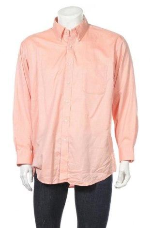 Мъжка риза Kirkland, Размер XL, Цвят Оранжев, Памук, Цена 3,70лв.