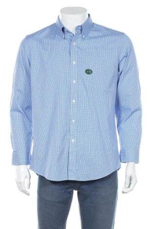 Мъжка риза L.L. Bean, Размер L, Цвят Син, Памук, Цена 16,75лв.