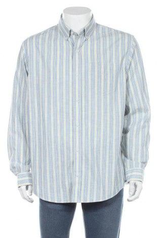 Мъжка риза L.L. Bean, Размер L, Цвят Син, Памук, Цена 10,40лв.