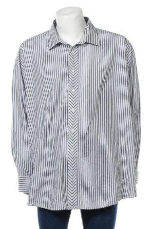 Мъжка риза Steve Harvey, Размер 4XL, Цвят Син, 55% памук, 45% полиестер, Цена 15,12лв.