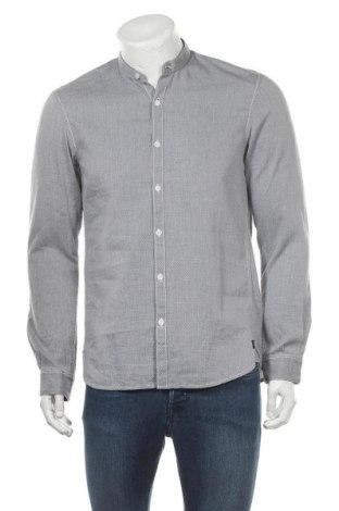 Ανδρικό πουκάμισο Tom Tailor, Μέγεθος M, Χρώμα Μπλέ, Βαμβάκι, Τιμή 9,59€