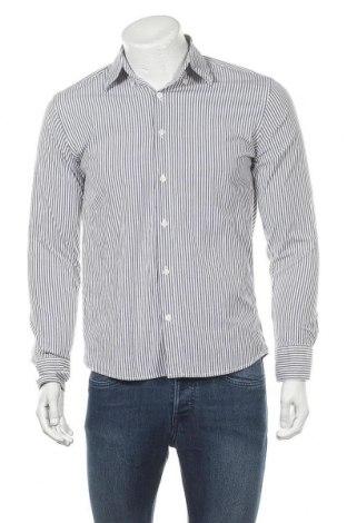 Мъжка риза Tommy Hilfiger, Размер M, Цвят Син, Памук, Цена 22,80лв.