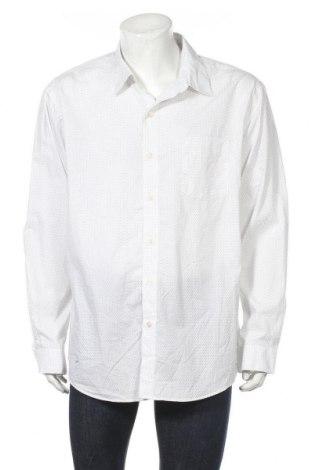 Мъжка риза Van Heusen, Размер XXL, Цвят Бял, 60% памук, 40% полиестер, Цена 15,44лв.