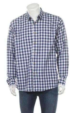 Мъжка риза Wrangler, Размер L, Цвят Син, Памук, Цена 22,68лв.