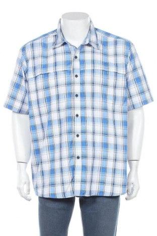 Мъжка риза Wrangler, Размер XL, Цвят Многоцветен, 85% полиестер, 15% полиамид, Цена 21,42лв.